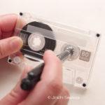 【カセット】タイムロスなく録音をスタートさせる方法